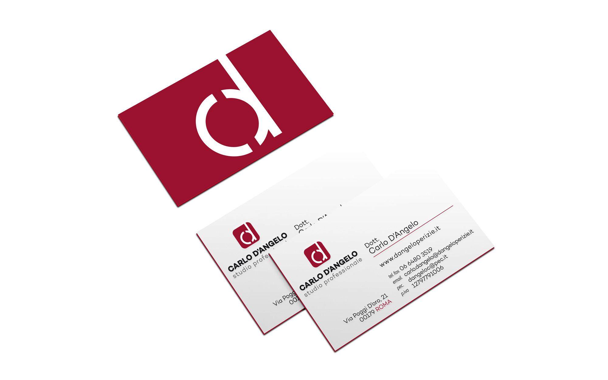 Business cards silvia sciuto business card design carlo dangelo studio professionale colourmoves
